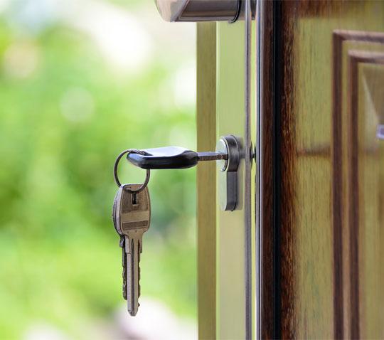 CityGate Key in Door
